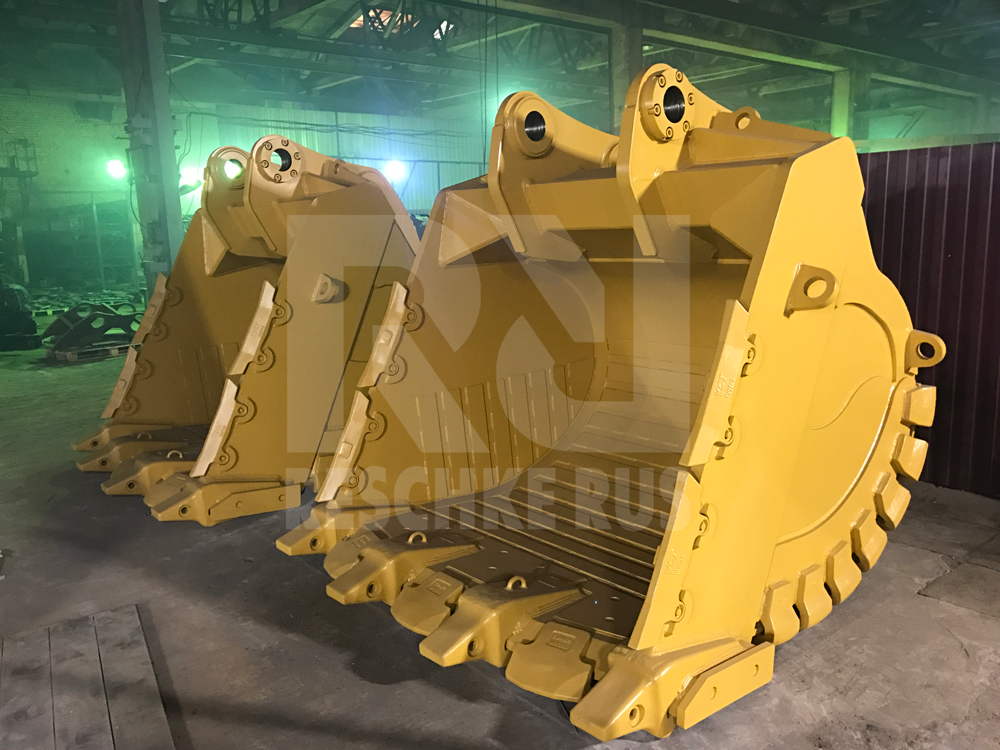 First 2 buckets Made in Russia for CATERPILLAR 390 - Фотография 1