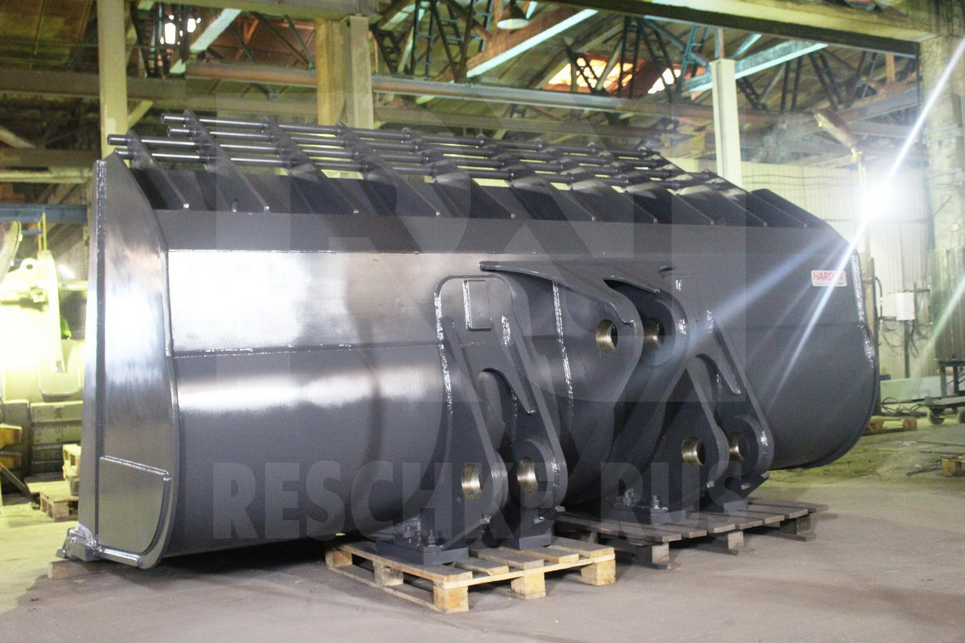 Reschke performance bucket for VOLVO L350 H!