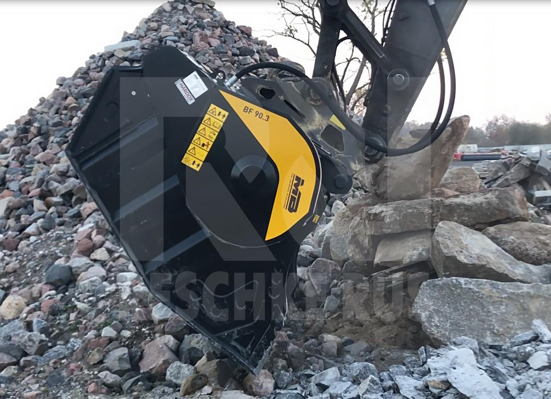 MB Crusher Bucket BF90.3 S4 from Reschke Rus - Фотография 1