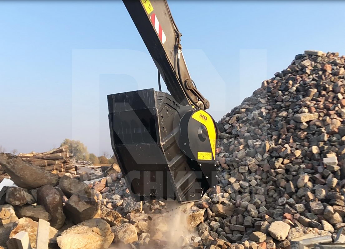 MB Crusher Bucket BF90.3 S4 from Reschke Rus - Фотография 2