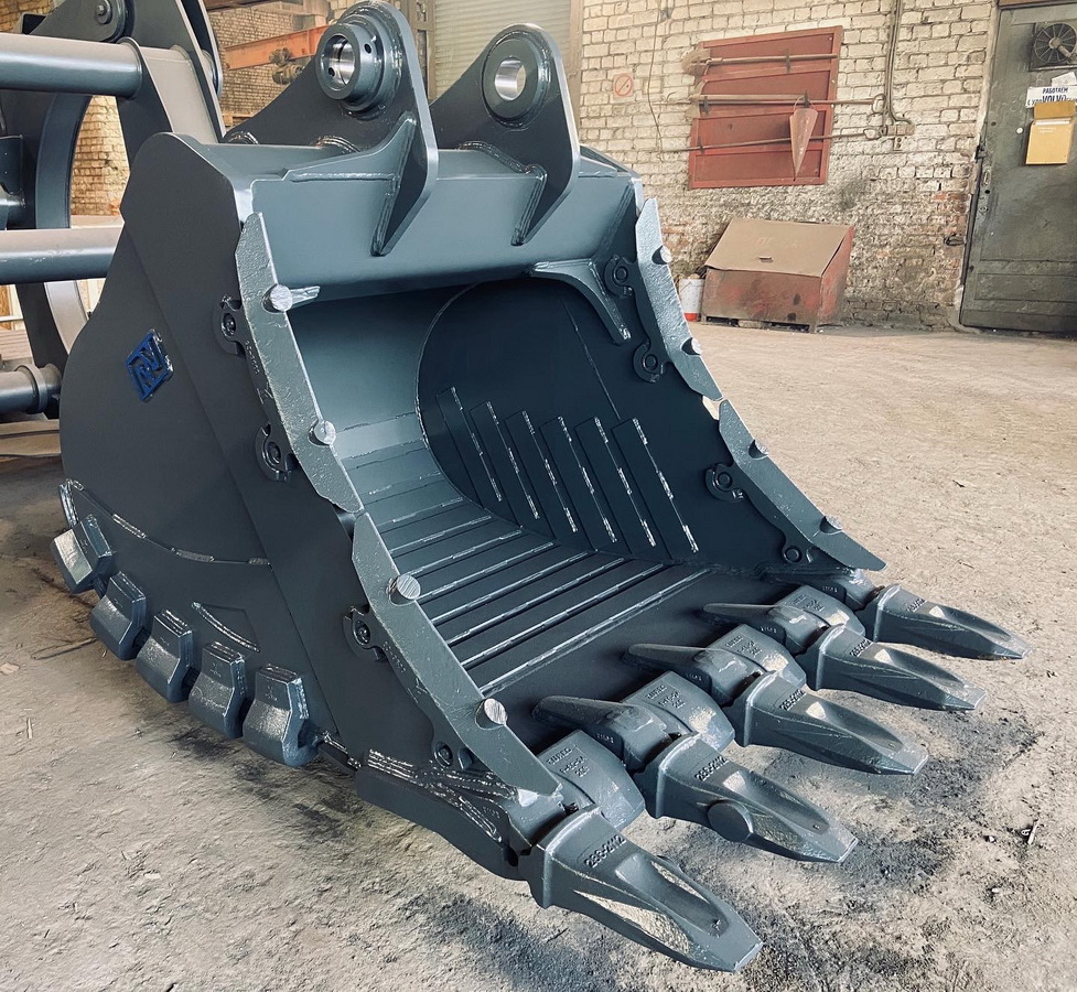 New HD and XHD rock buckets for 30 to 60 tons excavators - Фотография 1