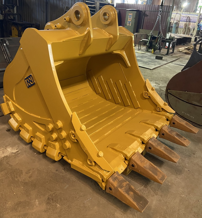 New HD and XHD rock buckets for 30 to 60 tons excavators - Фотография 2